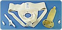 Urocare Products Inc Male Urinal Kit with Garment and Sheath Standard Medium, Lightweight, Latex