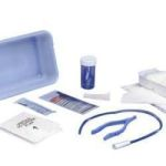 Curity™ Dover™ Open Urethral Catheter Tray with 14Fr Vinyl Catheter, 2 Nitrile Exam Gloves